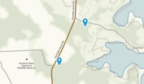 Eastern Neck Wildlife Refuge Map