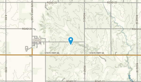 Redtail Lake State Wildlife Management Area Map