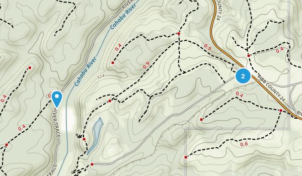 Cahaba River National Wildlife Refuge Map
