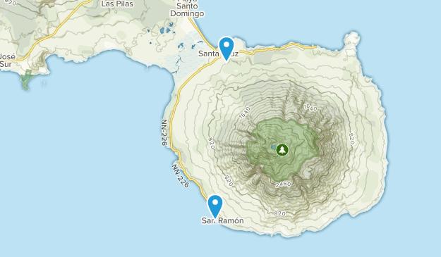 Reserva Natural Volcan Maderas Map