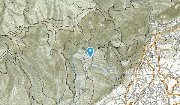 Parco Alpe del Viceré Map