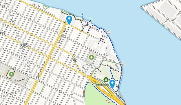 Tidelands Park Map