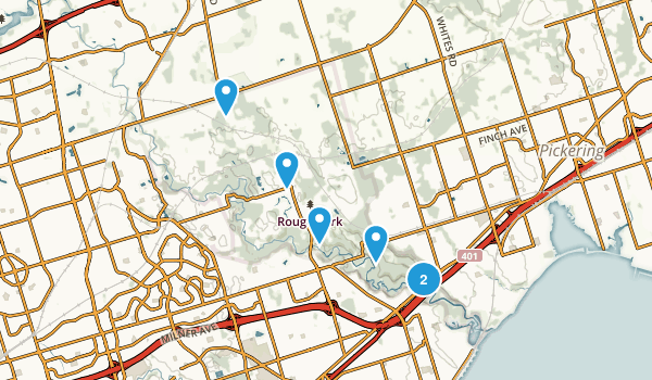 Rouge National Urban Park Map
