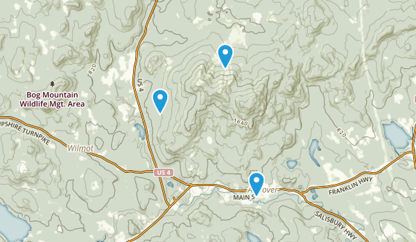 Ragged Mountain State Forest Map