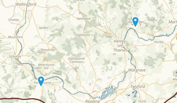 Thames Path Map