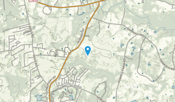 Anderson Creek County Park Map