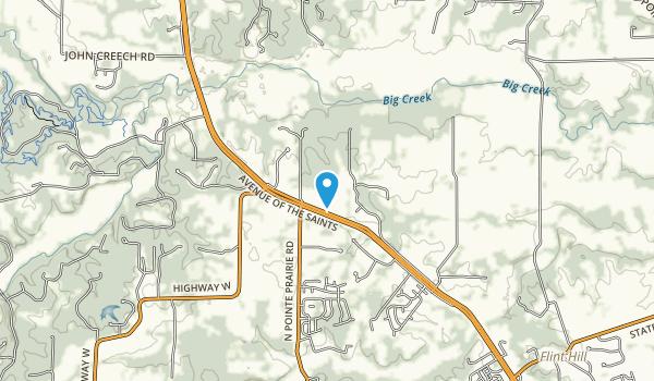 Towne Park Map