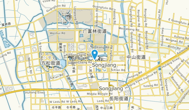Songjiang District Central Park Map