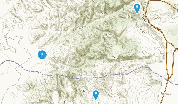 Dana nature reserve Map