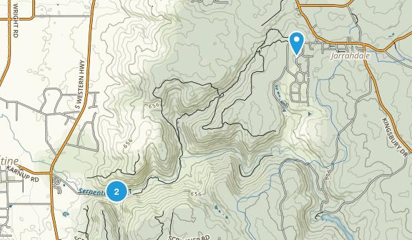Serpentine National Park Map