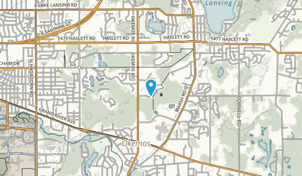 Central Park & Nancy Moore Park Map