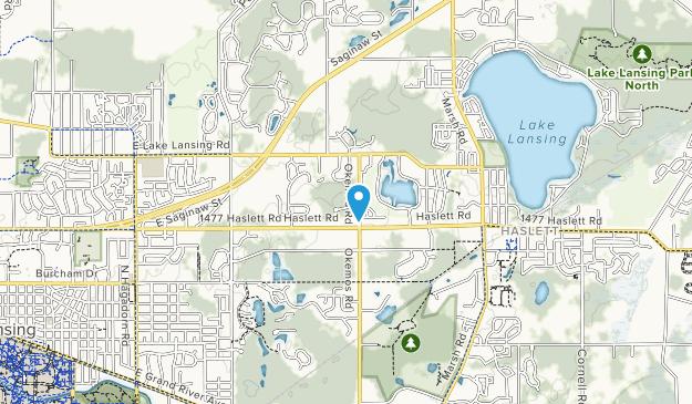 Brattin Woods Map