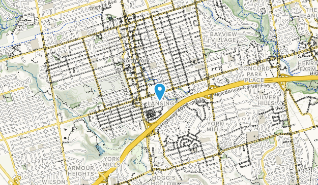 Willowdale Park Map