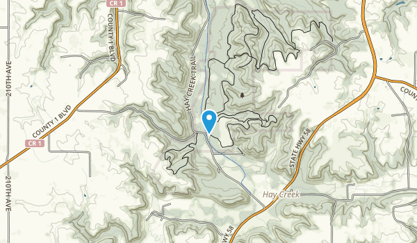 Richard J. Dorer Memorial Hardwood State Forest Map