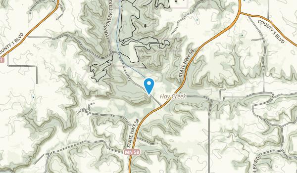 Hay Creek Forest Management Unit Map