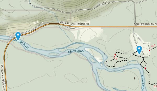 Roderick Haig-Brown Provincial Park Map