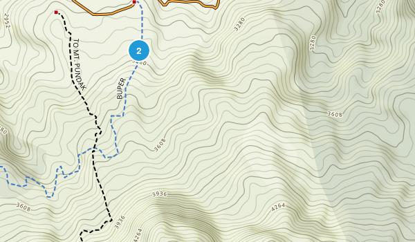 Taman Hutan Raya (Tahura) R. Suryo Map