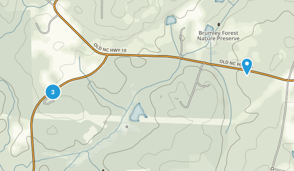Brumley Nature Preserve Map