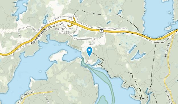 Musquash Estuary Protected Area Map