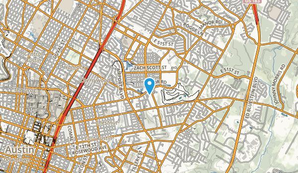 Mueller Southeast Greenway Map