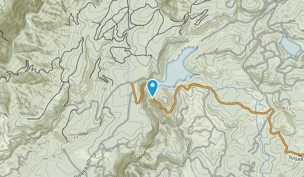 Sugar Pine Reservoir Map