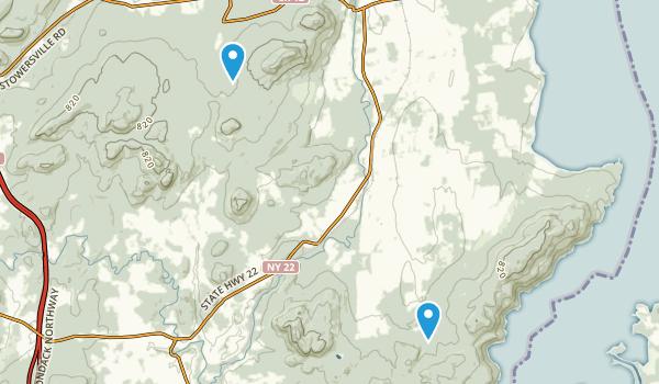 Split Rock Mountain Wild Forest Map