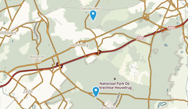 Utrechtse Heuvelrug Map