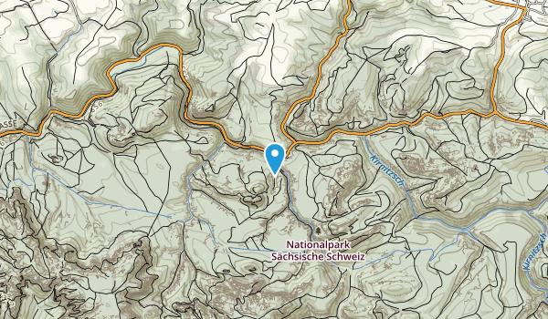 Nationalpark Sächsische Schweiz Map