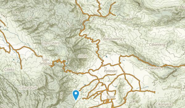 Cibadak Map
