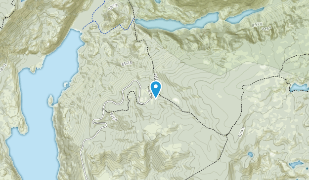 Wind River Range Map