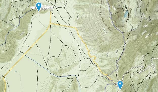 Monte Sibillini Map