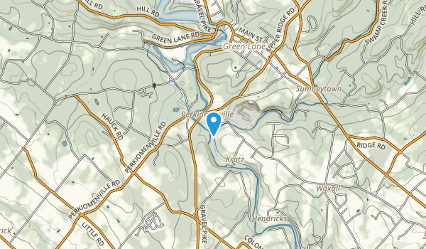 Central Perkiomen Valley Park Map