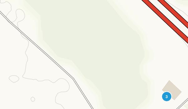 LSU Botanical Gardens Steele Forest Map