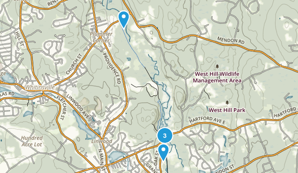Blackstone River and Canal State Park Map