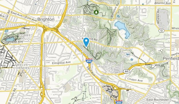 Corbett's Glen Nature Park Map