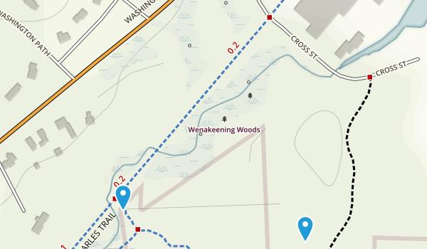 Wenakeening Woods Map