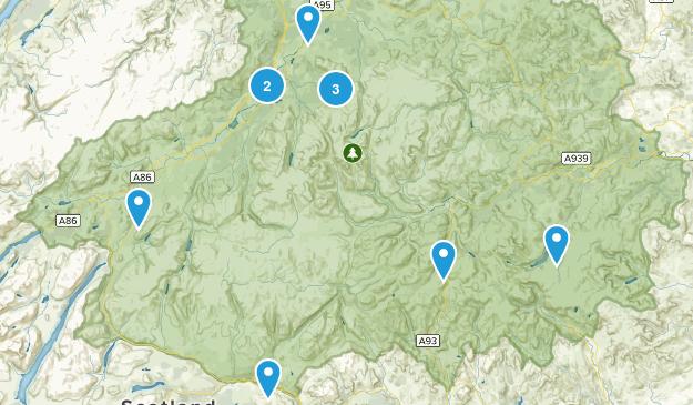 Cairngorms National Park Map