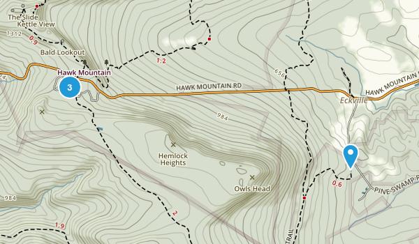 Hawk Mountain Map