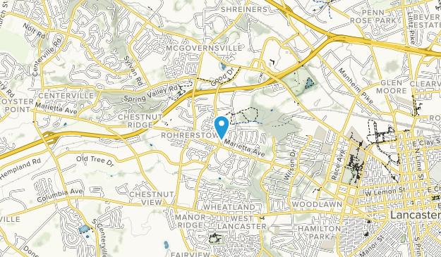 Farmingdale Park Map