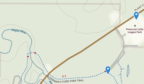 Alderman Ford Park Map
