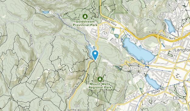 Mount Wells Regional Park Map