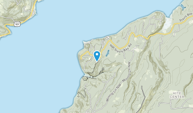 Guillemot Cove Nature Preserve Map
