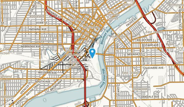 Middlegrounds Metropark Map