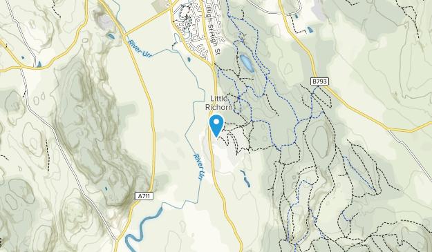 Dalbeattie Forest Map