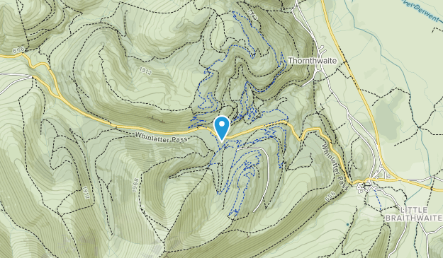Whinlatter Forest Park Map