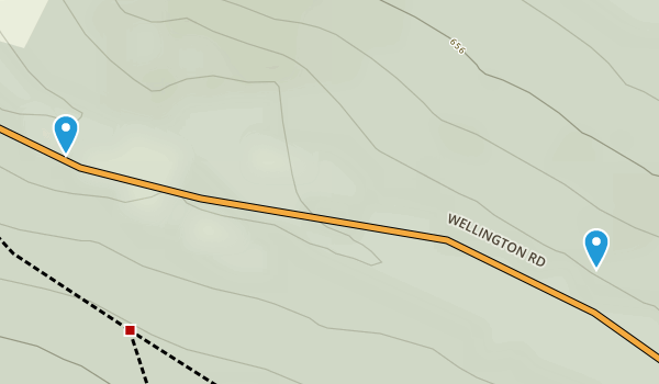 Wrekin Hill Fort Map