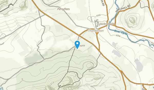 Tinto Hills Map