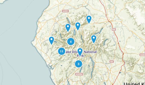 Lake District National Park Map
