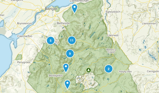 snowdonia national park map pdf