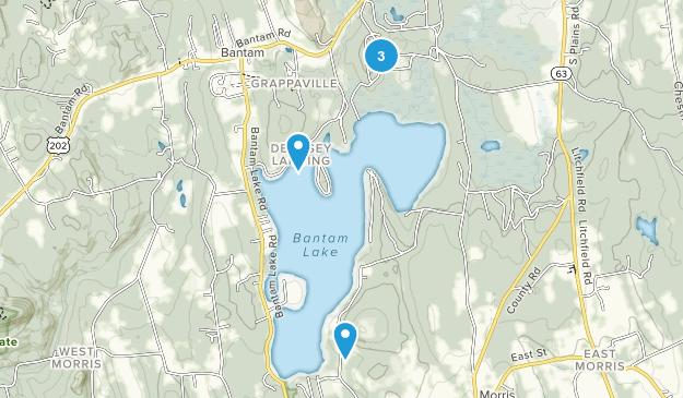 White Memorial Conservation Center Map